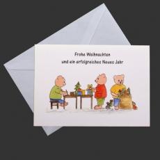 Weihnachtskarte - Frohe Weihnachten