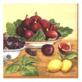 Tissue Servietten - Feigen und Beeren -