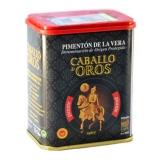 Caballo de Oros - Geräuchertes Paprikapulver - scharf