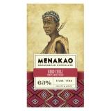 Menakao - Edelbitterschokolade mit Bird-Chili 63 %
