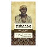 Menakao - Edelbitterschokolade 80 %