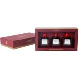 Giusti - Geschenkbox mit drei Condimenti-Fläschchen