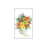 Mini-Karte - Blumenstrauß