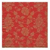 Tissue Servietten - Goldene Blumenranken -